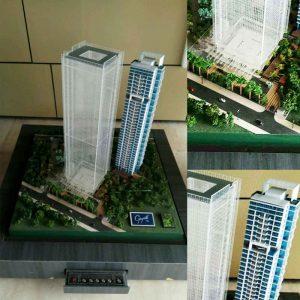 jasa maket apartemen gayanti city - maketscala -com